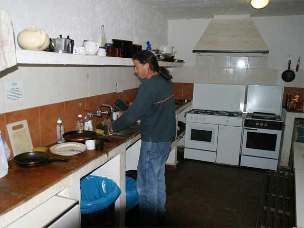 Bunkhouse Kitchen Finca La Campana