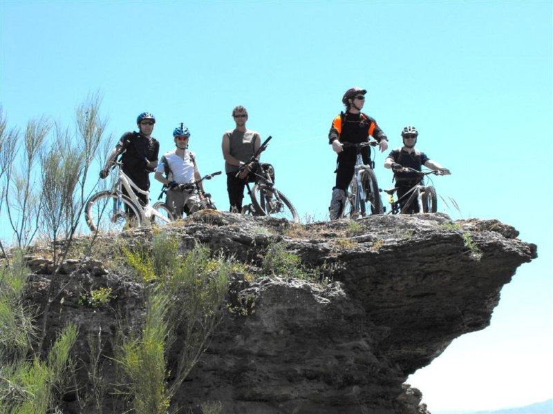 Mountainbike in el chorro